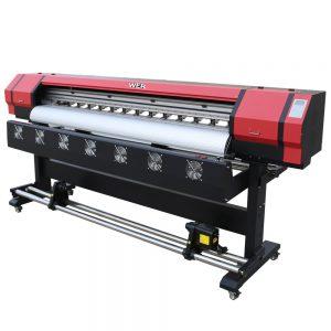 1.6 m yazıcı afiş solvent yazıcı geniş format yazıcı WER-ES1601 yazdırmak için