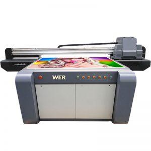 3D etkisi UV flatbed yazıcı, seramik yazıcı, çin WER-EF1310UV fayans baskı makinesi