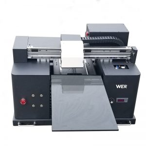Alüminyum metal baskı WER-E1080UV için A3 boyutu UV flatbed yazıcı