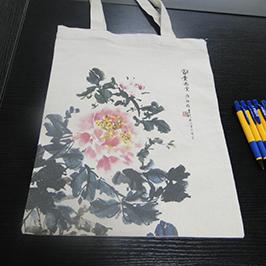 A2 t-shirt yazıcı WER-D4880T tarafından tuval çantası baskı örnek