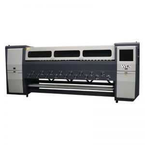 Kaliteli K3404I / K3408I Solvent Yazıcı 3.4m ağır mürekkep püskürtmeli yazıcı