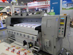 Deri baskı makinesi
