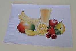 PVC afiş 3.2 m (10 feet) eko solvent yazıcı WER-ES3201 tarafından basılmış