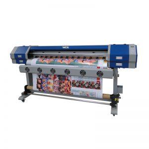 Süblimasyon doğrudan enjeksiyon yazıcı 5113 baskı kafası dijital pamuk tekstil baskı makinesi WER-EW160
