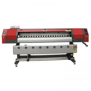 Çin en iyi fiyat t-shirt geniş format baskı makinesi plotter dijital tekstil süblimasyon mürekkep püskürtmeli yazıcı WER-EW1902