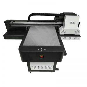 Dijital uv flatbed mürekkep püskürtmeli doğrudan tekstil yazıcı t shirt DTG yazıcı WER-ED6090T