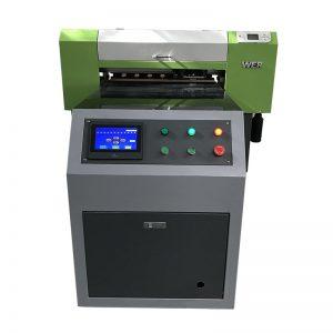 giysi dikmek için dijital tekstil kumaşlar kumaş baskı makinesi T-shirt uv yazıcı WER-ED6090T