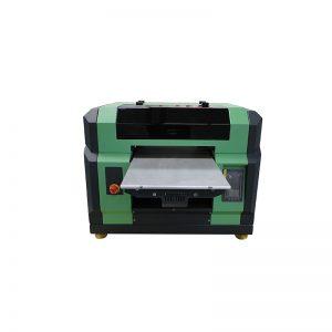 a3 a4 flatbed WER-E2000UV uv için iyi fiyat dx5 kafa 8 renkler ile yazıcı