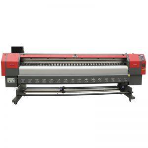 yüksek hızlı 3.2m solvent yazıcı, dijital flex afiş baskı makinesi fiyat WER-ES3202