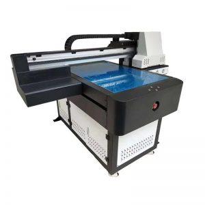 Çok İşlevli yüksek kaliteli DTG flatbed UV yazıcı ahşap WER-ED6090UV için LED UV kafa ricoh
