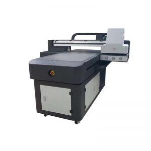 Pvc yazıcı makinesi plastik WER-ED6090UV için dijital mürekkep püskürtmeli tekstil yazıcı