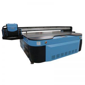 Metal için 2.5m * 1.3m baskı boyutu 3D kabartmalı Endüstriyel Led UV yazıcı; ahşap; cam; seramik; tahta; akrilik; pvc,